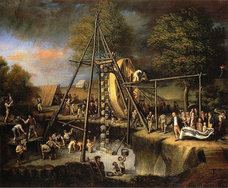 File:C W Peale - The Exhumation of the Mastadon.jpg