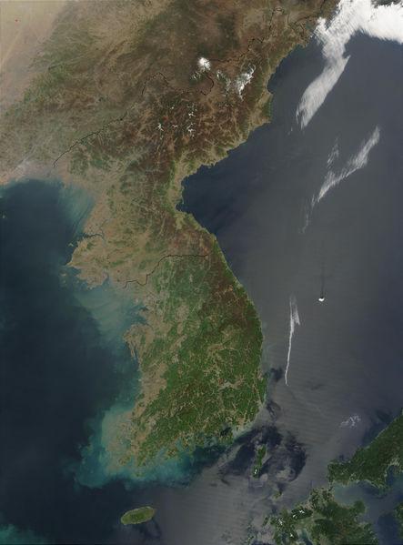 File:Korea satellite image.jpg