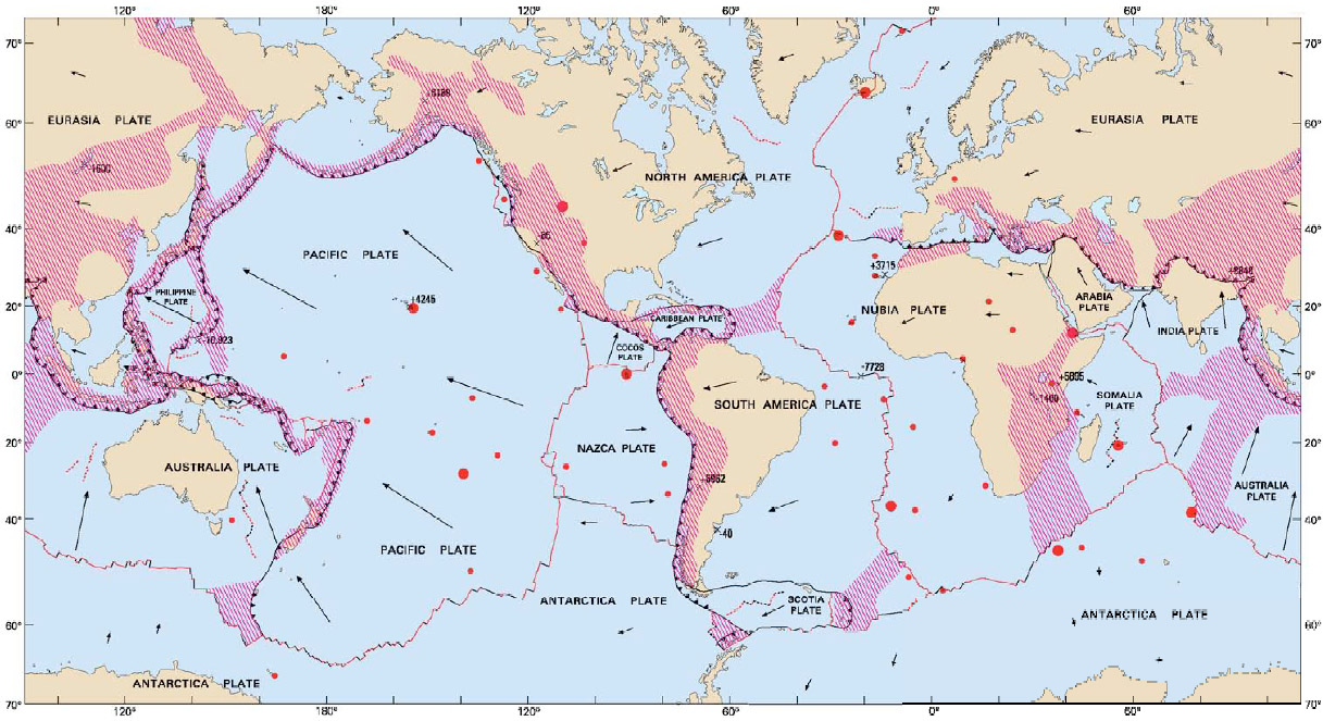 Earthquake And Tectonic Plate Diagram besides 1000 Images About EARTH ...