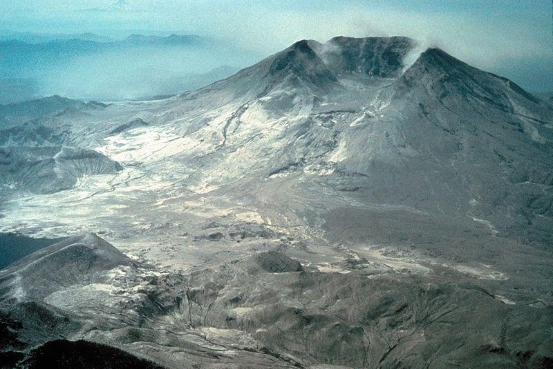 File:Mount St. Helens after eruption aerial.jpg