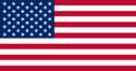 Bandeira do(a) Estados Unidos (United States)