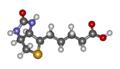 Biotin 3D Molecule.png