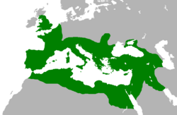 Location of Roman Empire
