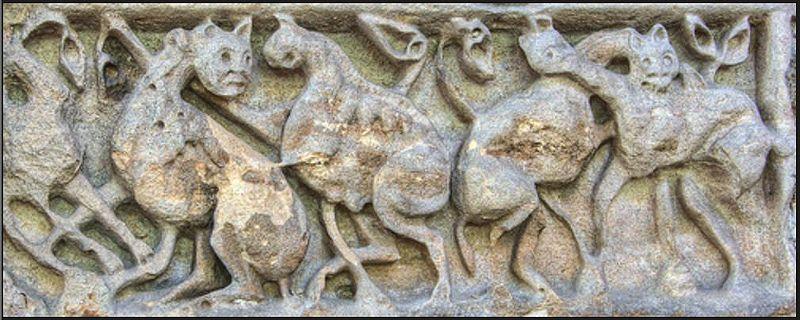File:Dinosaur attack Saxon carving.jpg