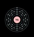 Electron shell niobium.png