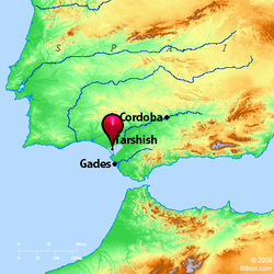 Location of Tarshish.