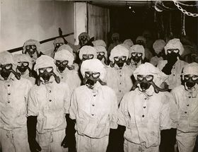 Decontamination Party in Full Gear- Nerve Agents.JPG