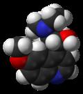 Quinine 3D structure.png