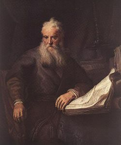 Rembrandt - Apostle Paul - WGA19120.jpg
