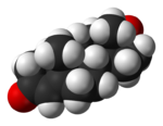 A 3D Image of a Testosterone Molecule.png